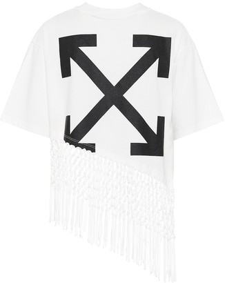 Off-White Off White Printed cotton-jersey T-shirt