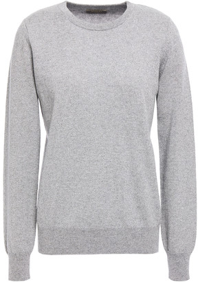 N.Peal Metallic Cashmere Sweater
