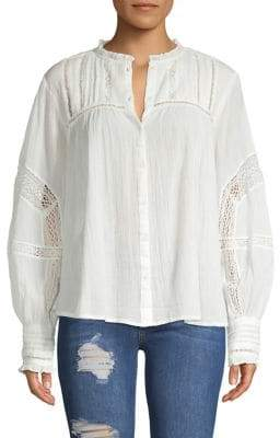Free People Emma Button-Down Blouse