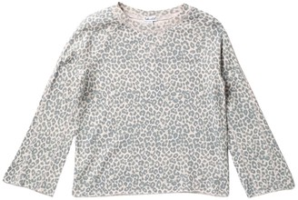 Splendid Raglan Sleeve Leopard Print Top (Big Girls)