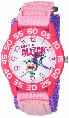 Disney Girls Ralph Breaks Analog-Quartz Watch with Nylon Strap
