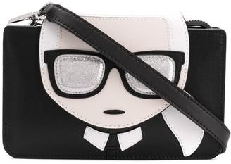 Karl Lagerfeld Paris K/Ikonik Triple crossbody bag