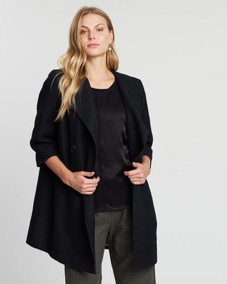 Faye Black Label Double Breasted Oversized Jacket