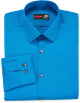 Jf J.Ferrar JF Long-Sleeve Easy-Care Slim Dress Shirt - Big & Tall