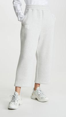 Alexander Wang Dense Fleece Sweatpants