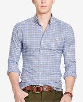 Polo Ralph Lauren Men's Long-Sleeve Slim-Fit Stretch-Oxford Shirt
