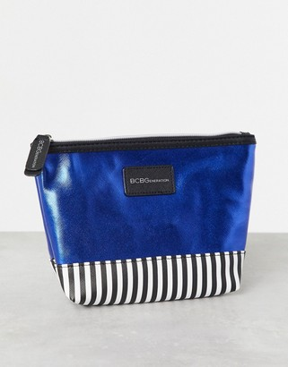 BCBGeneration zip top make-up pouch