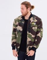 Quiksilver Mens Trestles Army Bomber Jacket