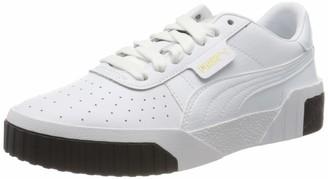 Puma Girls' Cali Jr Sneakers White White Black 14 36 EU 3.5UK