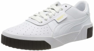 Puma Girls' Cali Jr Sneakers White White Black 14 38 EU 5UK