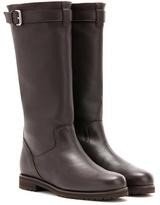 Loro Piana Flatey leather boots