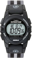 Timex Expedition Gray Nylon Strap Digital Watch T496619J