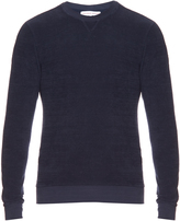Orlebar Brown Pierce French terry-towelling sweatshirt