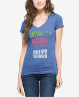 '47 Women's Indianapolis Colts MVP V-Neck Scrum T-Shirt