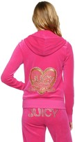 Juicy Couture Logo Velour Love & Glam Original Jacket