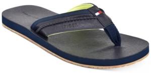 Tommy Hilfiger Men's Dembo Flip-Flop Sandals Men's Shoes