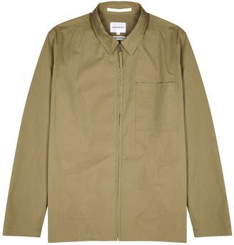 Norse Projects Jens Olive Cotton-blend Jacket