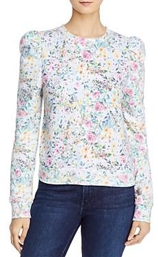 Generation Love Hayden Printed Puff-Sleeve Sweatshirt