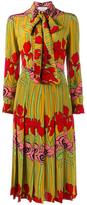 Gucci floral print dress - women - Silk - 36