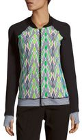 Trina Turk Printed Long Sleeve Top