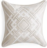 "Hudson Park Alistair Beaded & Embellished Decorative Pillow, 16"" x 16"""