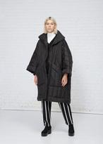 Henrik Vibskov Black Swing Coat Thermo