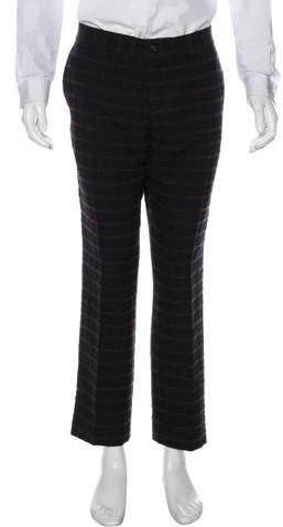 Missoni Virgin Wool Plaid Pants