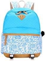 ShiningLove Student Canvas Backpack Shoulder Bag Laptop Bag Schoolbag Rucksack