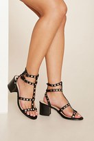 Forever 21 FOREVER 21+ Studded Strappy Sandals