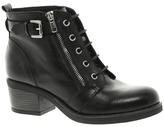 Bertie Perdix Zip Detail Ankle boots - Black
