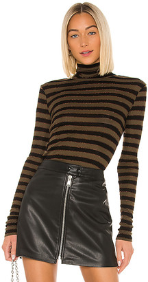 AllSaints Esme Shimmer Stripe Roll