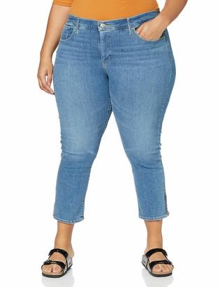 Levi's Plus Size Women's 311 Pl Skinny Ankle Zip Jeans