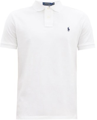 Polo Ralph Lauren Custom Slim-fit Cotton-pique Polo Shirt - Mens - White