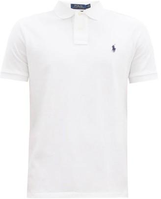 Polo Ralph Lauren Custom Slim-fit Cotton-pique Polo Shirt - White