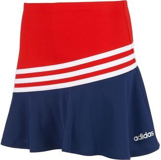adidas Girls 7-16 Stripe Sport Skort
