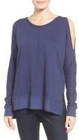Women's Caslon Cold Shoulder Sweatshirt