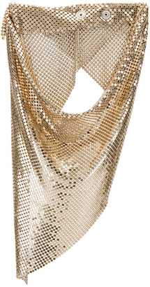 Paco Rabanne Triangle Scarf in Light Gold | FWRD
