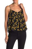 Lush Pleated Camisole Tank Top