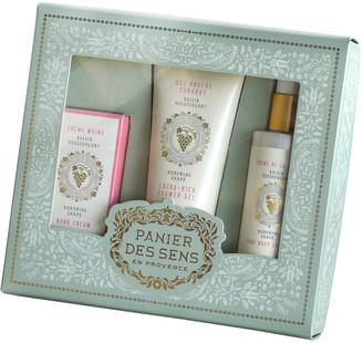 Panier Des Sens White Grape Body Care Gift Set