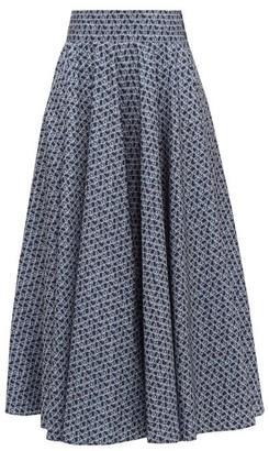 Max Mara Sansa Skirt - Blue White