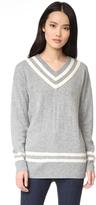 Frame Varsity V Neck Sweater