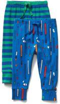 Gap Little artist knit pants (2-pack)