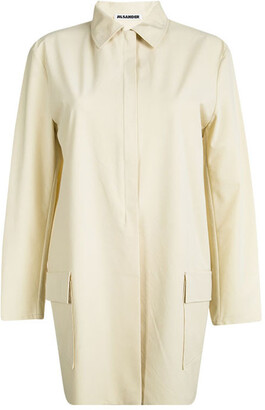 Jil Sander Beige Long Sleeve Jacket L