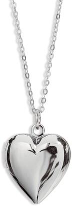 Set & Stones Roxy Heart Locket Necklace