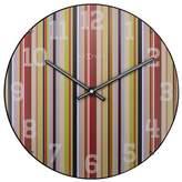 Nextime Smithy Stripes Dome Wall Clock Shape: Circle