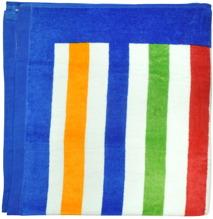 Beach Towel - Multi-Stripe