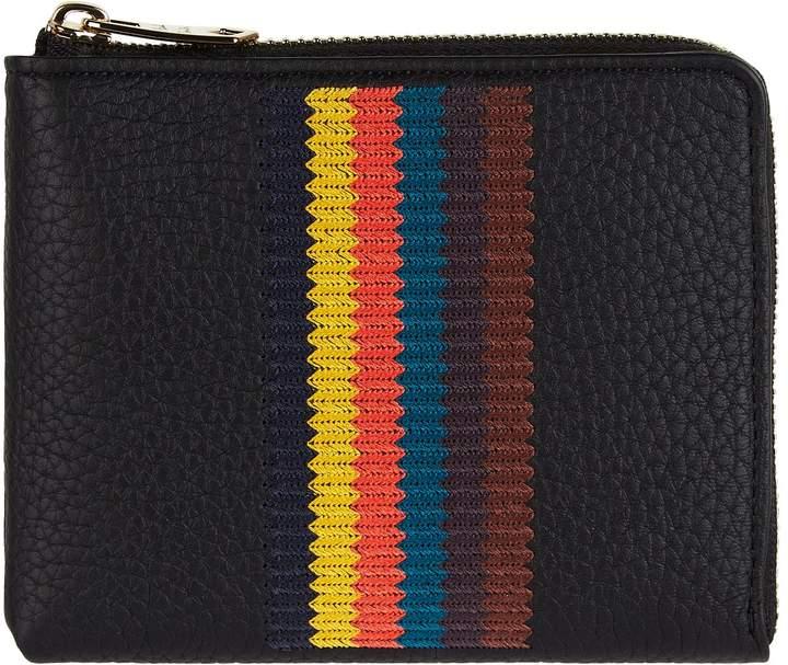 Paul Smith Striped Zip-Around Wallet