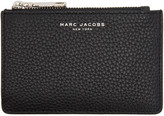 Marc Jacobs Black Gotham Zip Card Holder