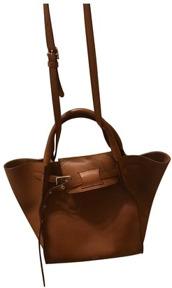 Celine Big Bag Camel Leather Handbags