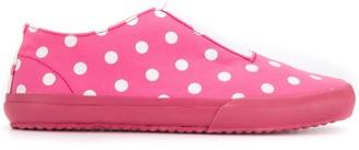 COMME DES GARÇONS GIRL Slip-On Polka Dot Sneakers